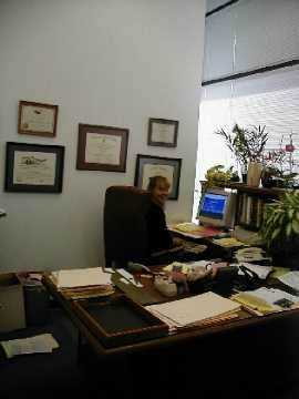 Ruth Roti's Office