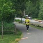 Peter Mogren on fun run