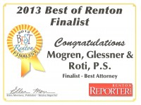 Best of Renton 2013 Finalist
