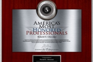 American Registry Honored Professional